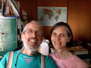 philip kimball and jennifer brown at home